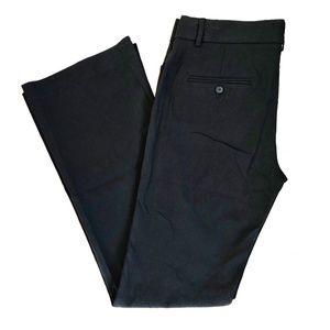 Express Editor Black Stretch Trousers Sz 8 long